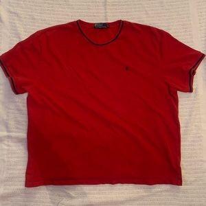 XL Red Polo T-Shirt by Ralph Lauren